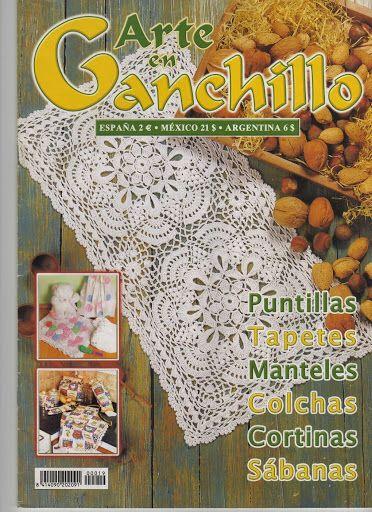 #crochetmagazine Arte en ganchillo Nº19