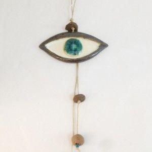 Ceramic Wall Eye | Cretan Mementos