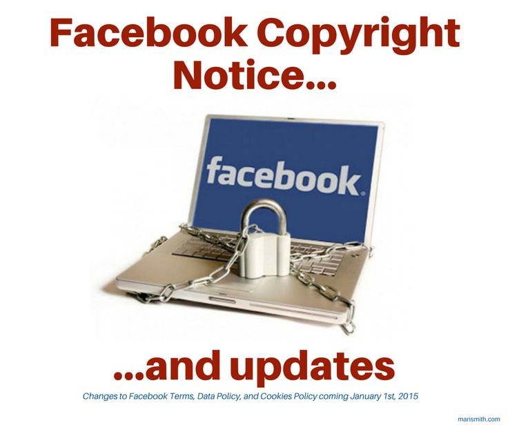 Facebook Copyright Notice + Important Policy Updates: http://on.fb.me/11KkuBU  | Plz share on #Facebook! @MariSmith