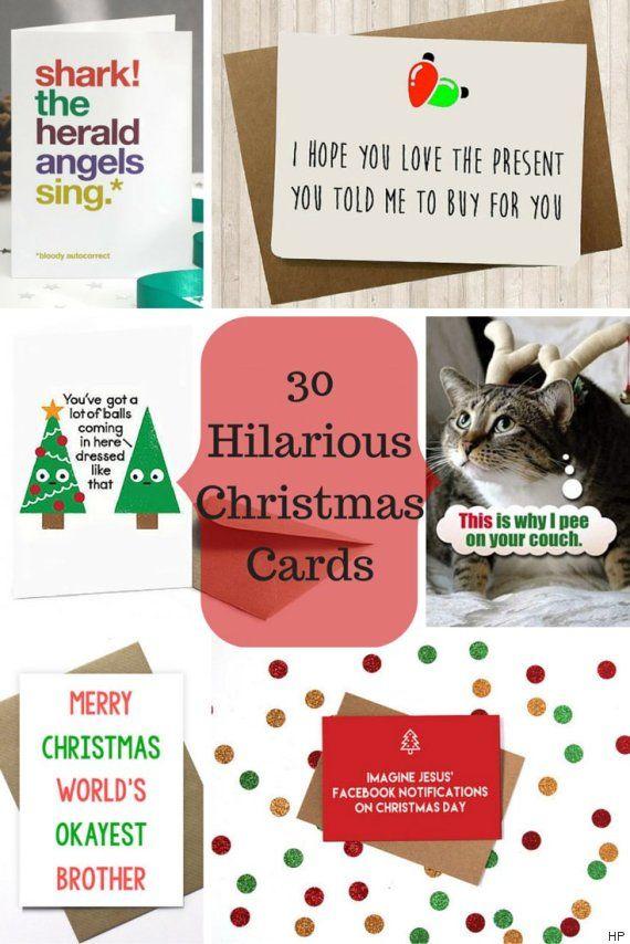 funny xmas cards