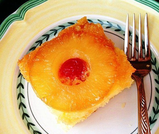 Ананасовый десерт - простой рецепт