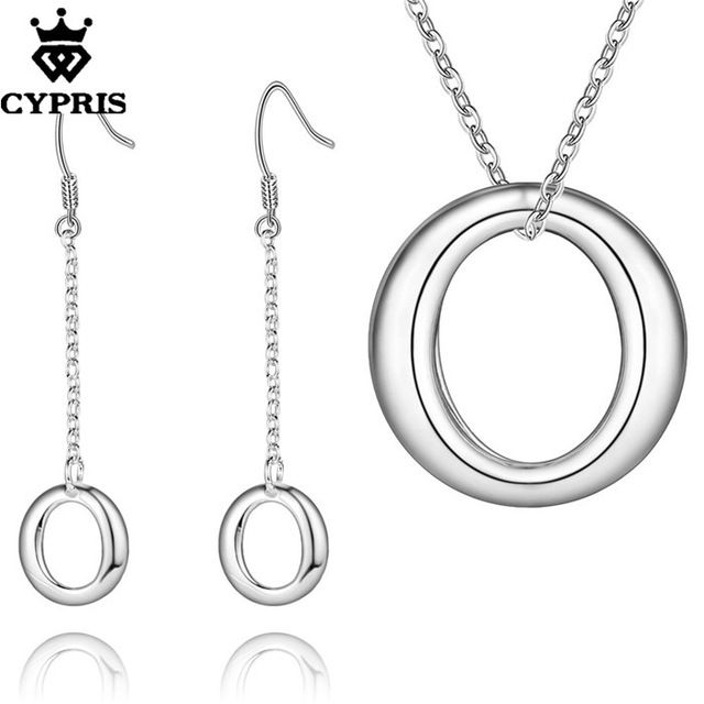 CYPRIS оптовая торговля розничная торговля набор свадьба свадьбу ювелирные наборы мода ювелирные изделия из серебра…