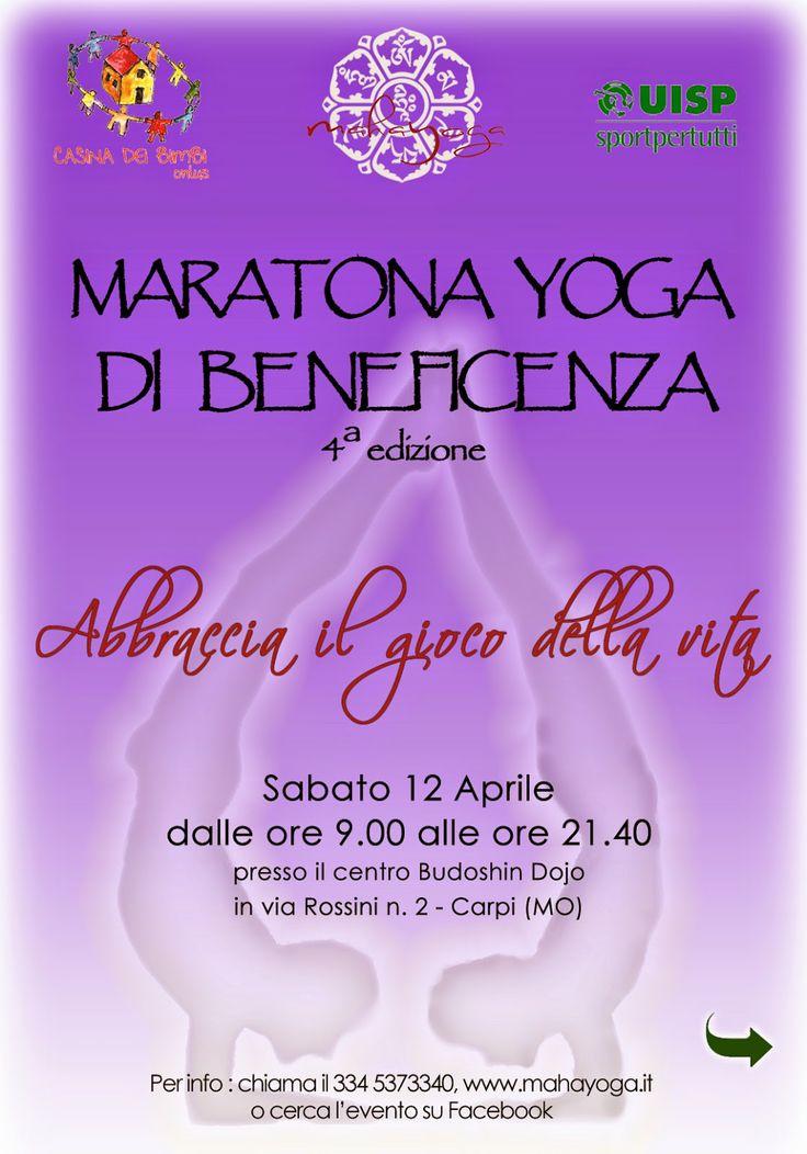IL SOLE BAMBINO - Opere di Massimo Provasi: Maratona Yoga: Sabato 12 aprile 9.00-21.40