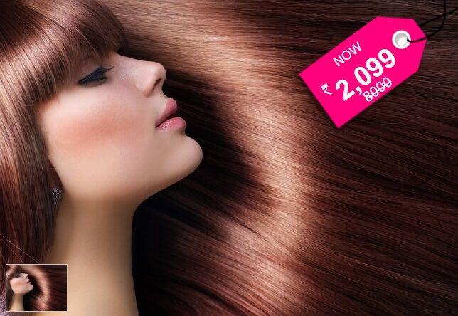 Velachery / Selaiyur: L'Oreal Hair Smoothening at Elite Family Beauty Lounge - SAVE 74%