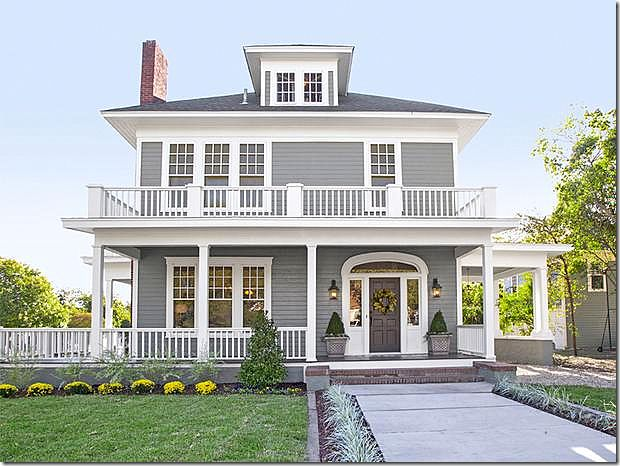 Reminds me of my old home in Portsmouth, Ohio. Love this look!