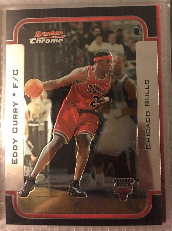 2003 Bowman Chrome Eddy Curry #109. Chicago Bulls. Near Mint. Combined S&H.  | eBay