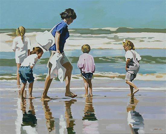 S ´éclater en famille à la plage....