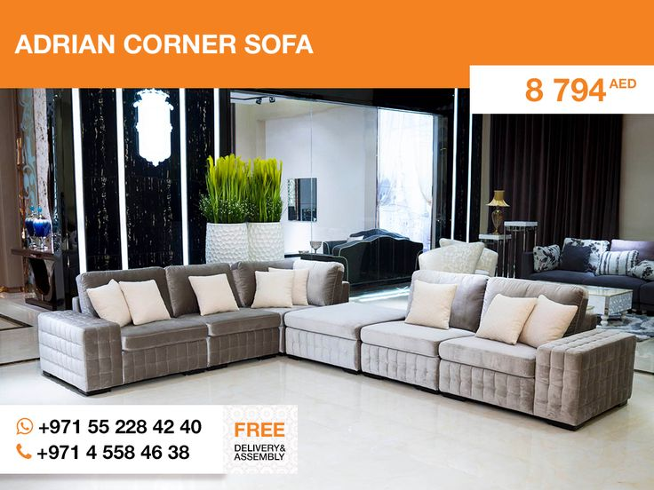 Looking For Extremelly Modern Design, Pay Attention To The Adrian Corner  Sofa. An Unusual