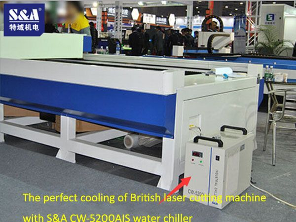 Teyu makes progress every day! We welcome the cooperation with a new customer engaged in laser cutting machine from England. This customer is specialized in the development, production and sales of various laser devices including laser cutting machine, laser welding machine and laser marking machine.  http://www.teyuchiller.com/Article/TheperfectcoolingofB_1.html