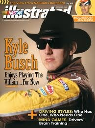 Nascar Illustrated..Kyle Busch one of best driver's I have seen!