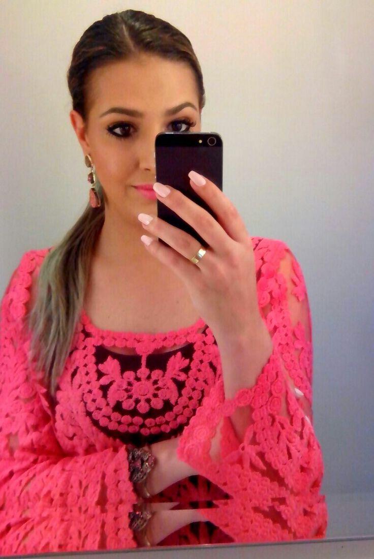 #makeup #hair #fashion #blogger #pink
