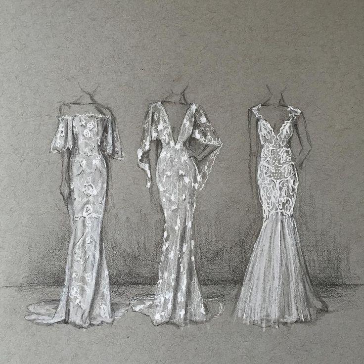 Instagram Photo By Phoebe Atkey Apr 29 2016 At 11 32am Utc Fashion Illustration Fashion Drawing Fashion Sketches Dresses