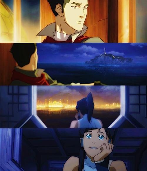 Art Mako and Korra  avatar-the-legend-of-korra