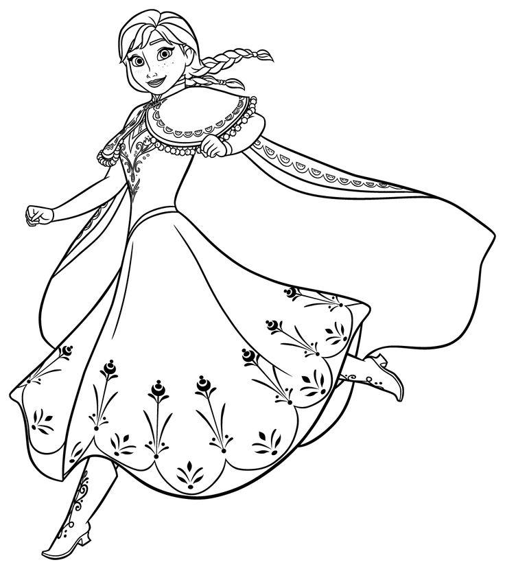 Colora i personaggi del magico mondo Frozen