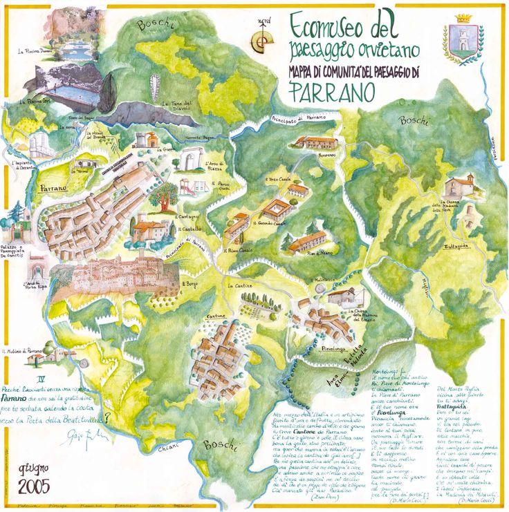> Mappa di Comunità di Parrano