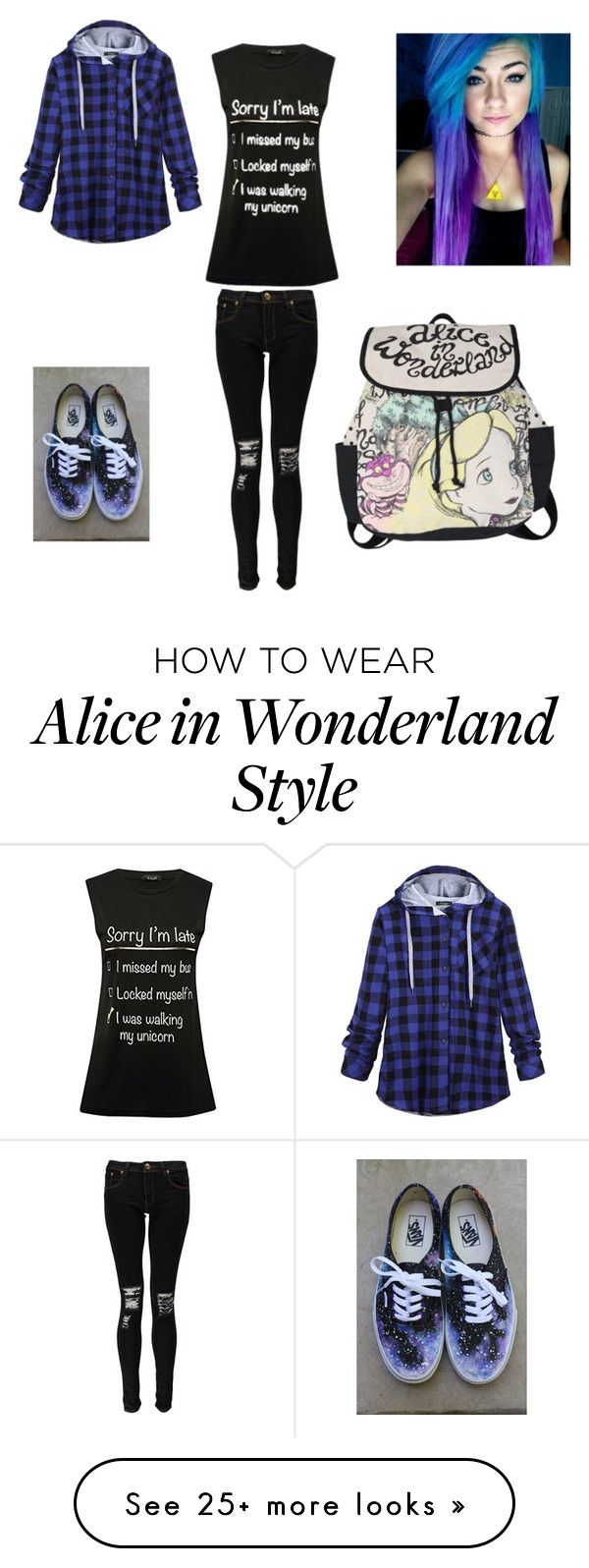 """""""Untitled #344"""" by vmharder on Polyvore featuring M&Co, Boohoo, Disney, Vans, women's clothing, women, female, woman, misses and juniors"""