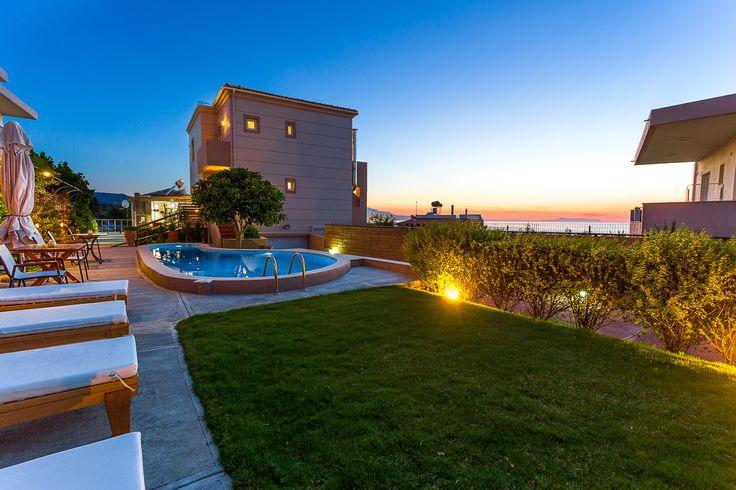 Villa Kokkinos, Rethymno, Crete, Greece  #villa #vacation_rental #holidays #privacy #luxurious_accommodation #visit_Crete