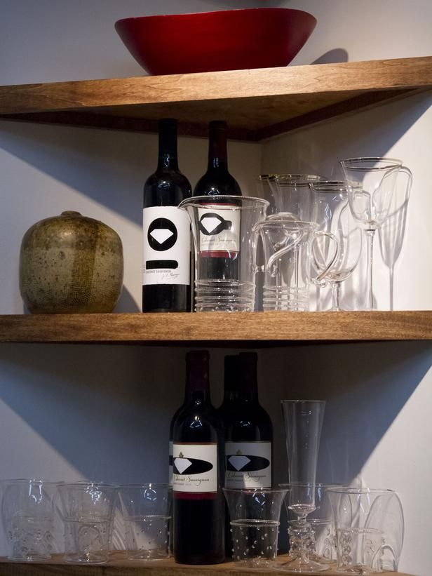 Boris Eckey created a custom corner cabinet to house wine and barware. (http://www.hgtv.com/hgtv-star/hgtv-star-season-8-photo-highlights-from-episode-4/pictures/page-16.html?soc=Pinterest)
