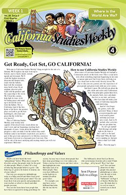 California Studies Weekly Weekly Newsletter For 4th Grade 595