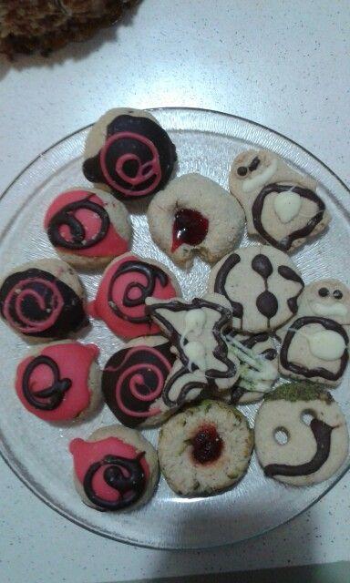 Şeker hamuru yapımı kurabiye