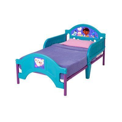 Delta Children Disney Doc McStuffins Convertible Toddler Bed