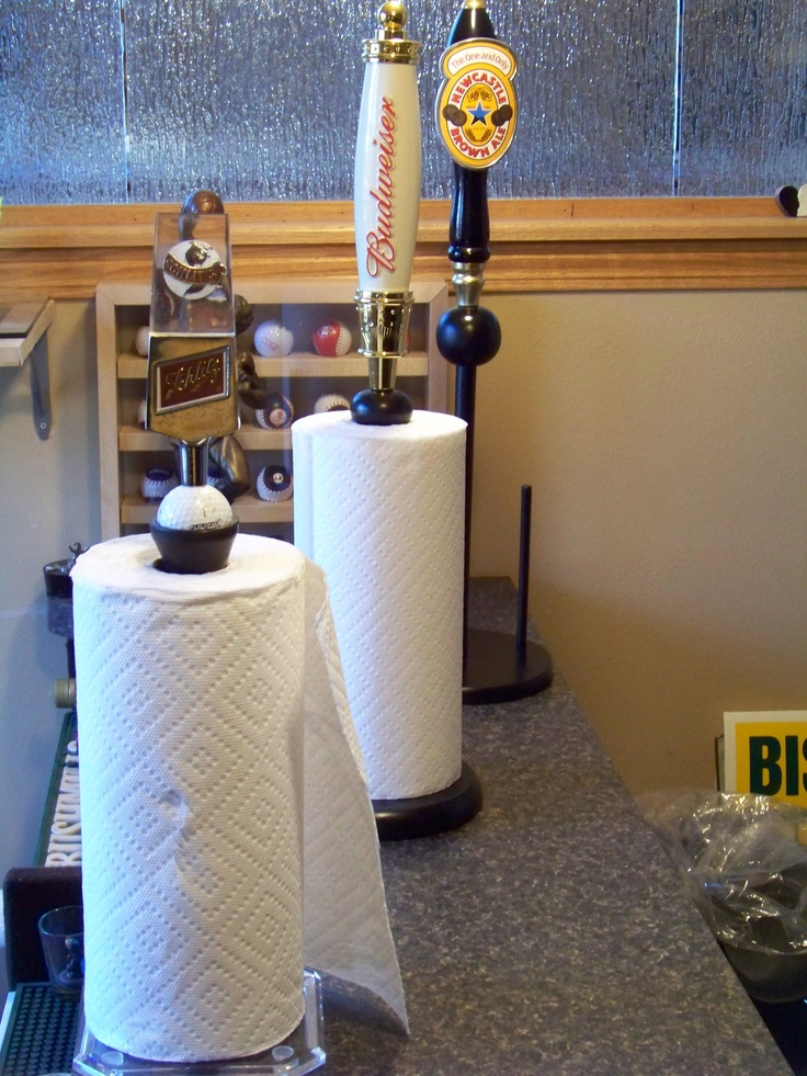 Beer Tap Paper Towel Holders For The Home Beer Taps