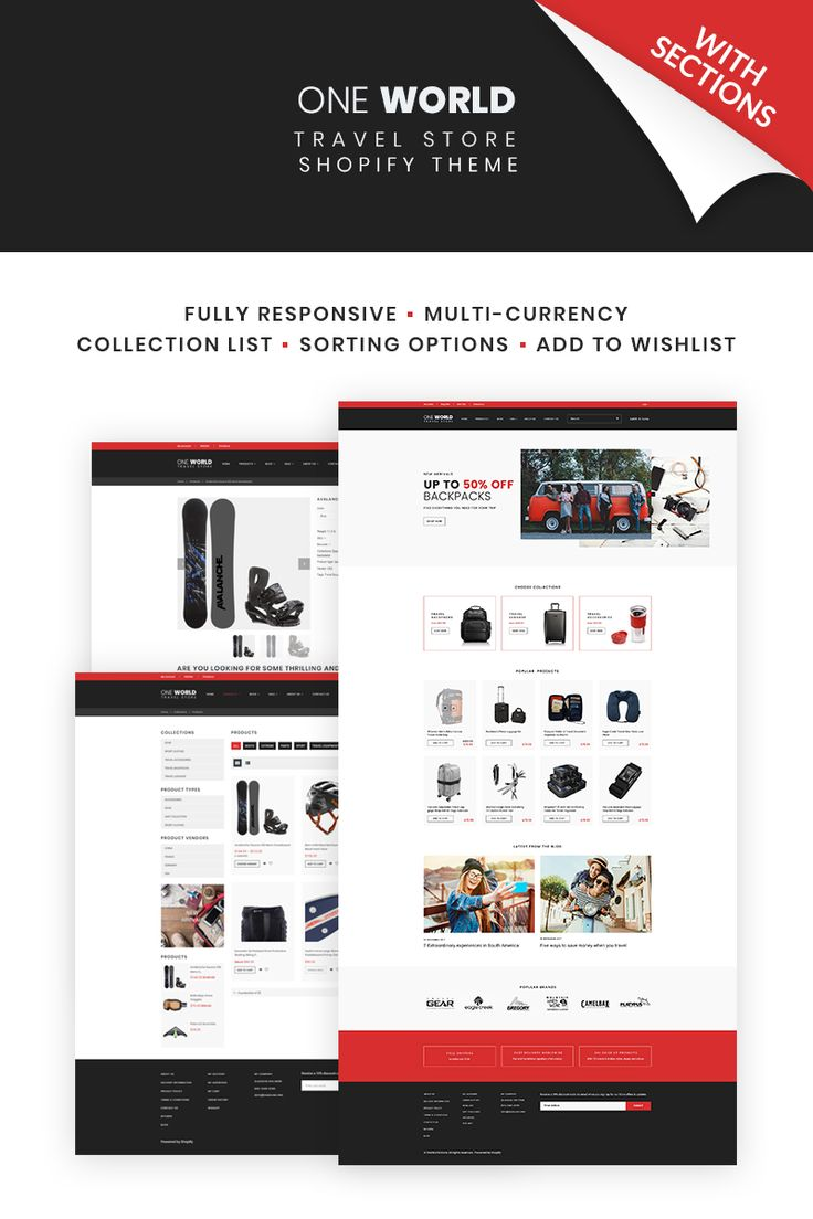 Travel Store Shopify Theme
