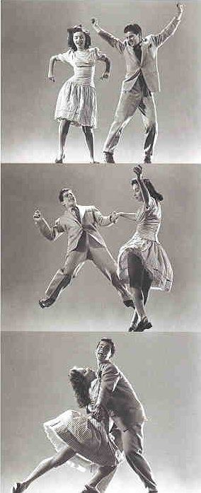 Origine des danses jazz swing
