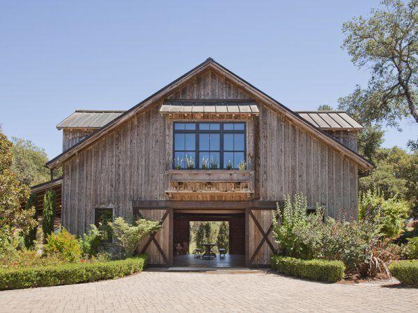 Exceptional mediterranean vineyard estate in sonoma acre for Sonoma barn