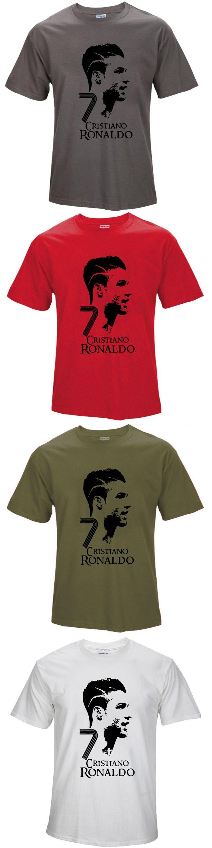 2016 Summer World Cup Cristiano Ronaldo men's T-shirt survetement footbal bodybuilding camiseta barcelonae barcelona t shirt