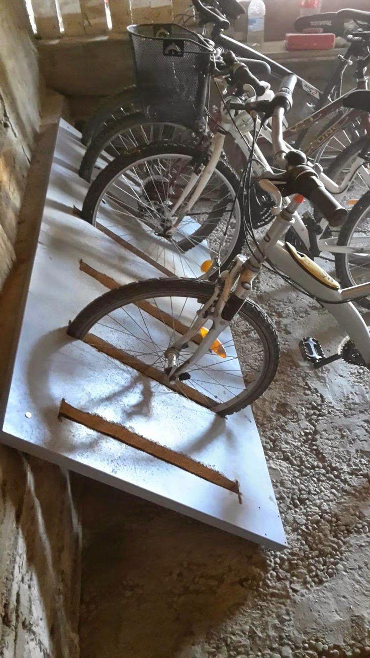 Fahrradstander Diy Fahrradtrager Fahrradkeller Fahrrad