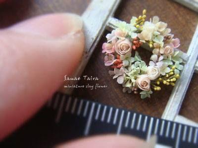 続・ちっちゃいのマニア~miniature clay flower~