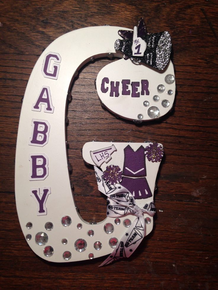 1000 images about cheerleading locker decorations on