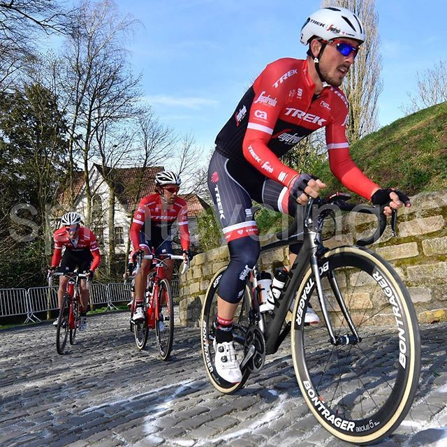 John Degenkolb on the Muur van Geraardsbergen during the recon of the RVV 2017 @bettiniphoto
