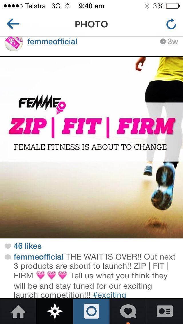 Femme range coming soon to emjfitness.com