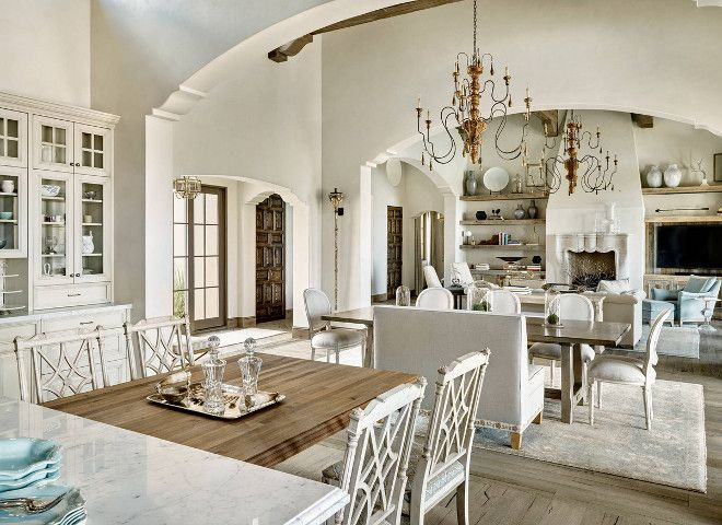 French Interiors, Open Concept French Interior Design Ideas, Neutral French  Interiors, Open Concept