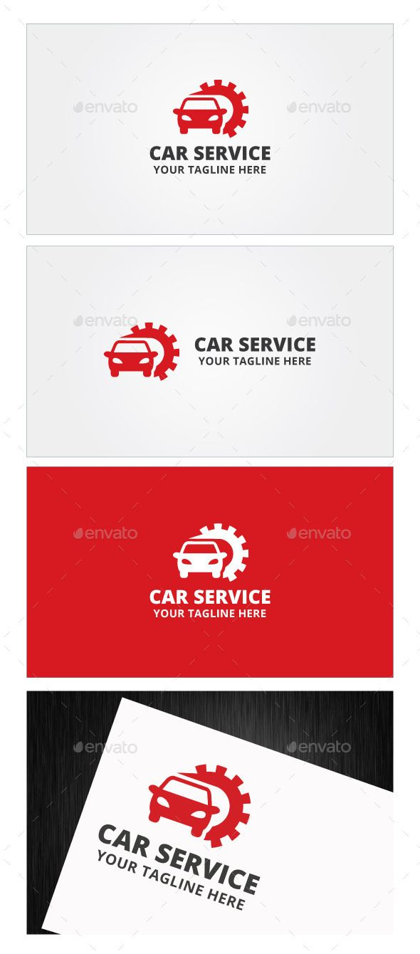 Car Service Logo Template — Photoshop PSD #machine #wheel • Available here → https://graphicriver.net/item/car-service-logo-template/9012194?ref=pxcr