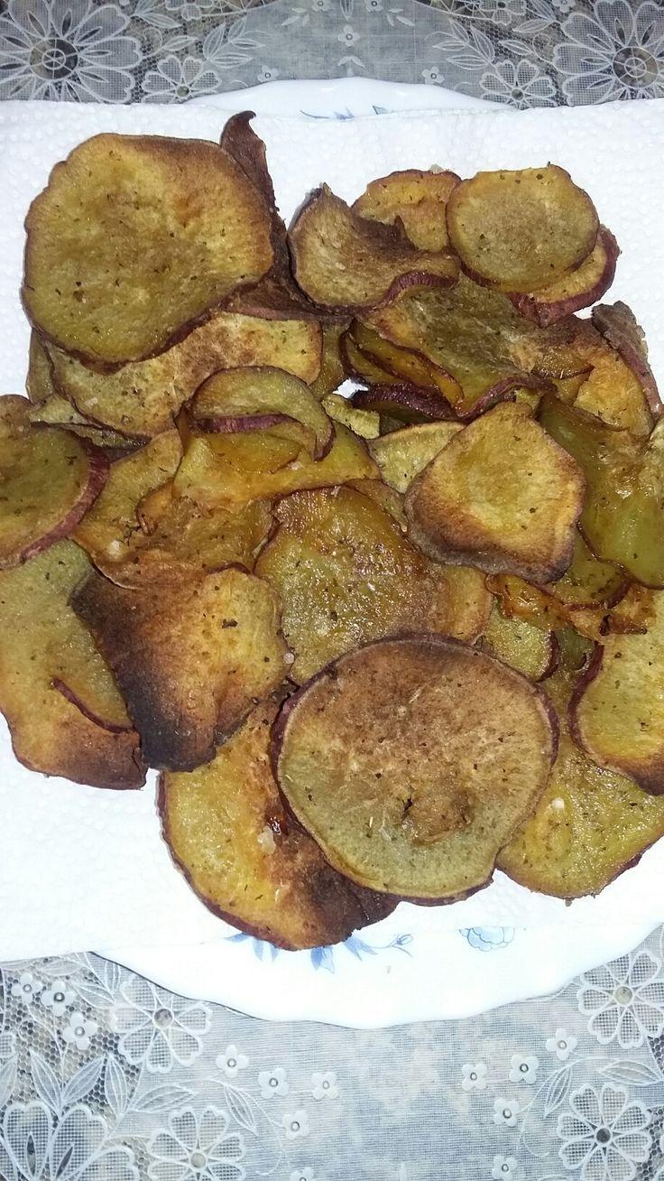 Batata doce com especiarias  (forno)