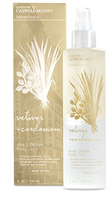 Caswell Massey Botanicals Vetiver & Cardamom Dual Phase Body Oil Spray — Giftwerks