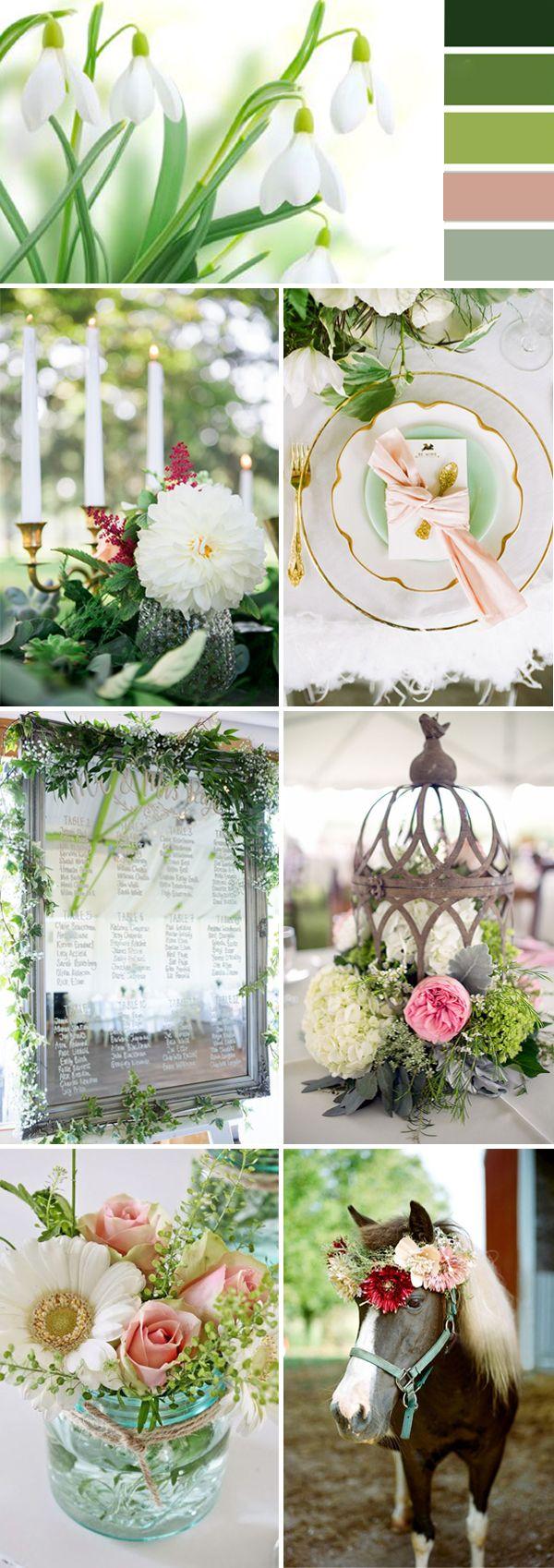 Green Wedding Color Ideas For 2017 Spring