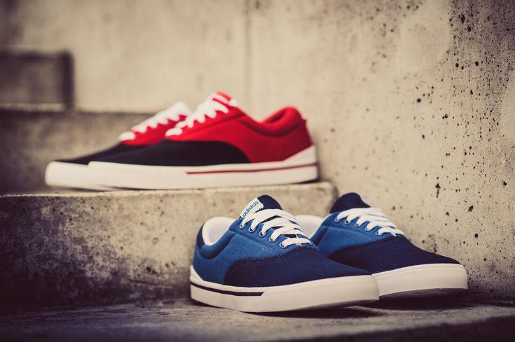 Adidas PARK St czerwone / granatowe / NEO / Originals
