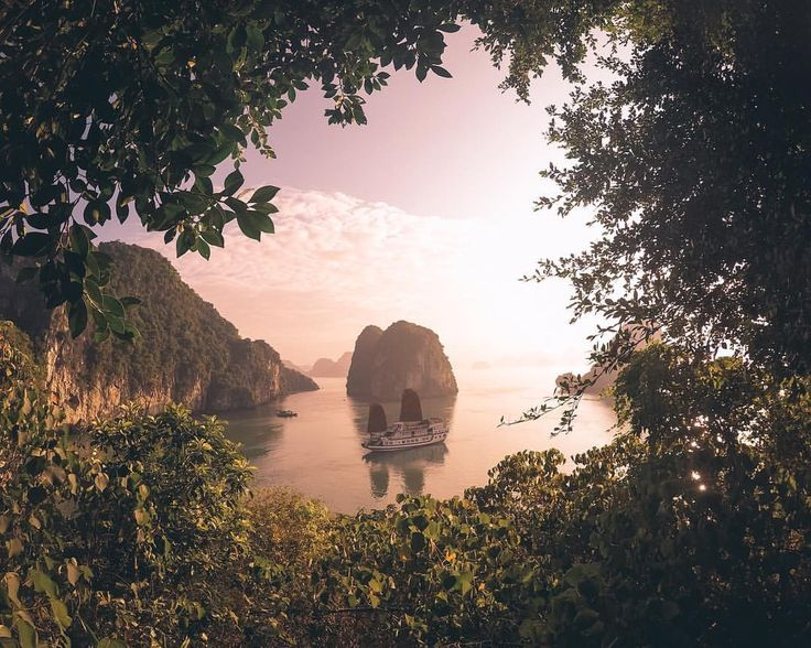 """474 Likes, 76 Comments - TRAVEL COUPLE•Brendon + Hayley (@true_routes) on Instagram: """"📍Bai Tu Long Bay, Vietnam 🇻🇳 Waking up in a junk boat in the beautiful Bai Tu Long Bay, the best…"""""""