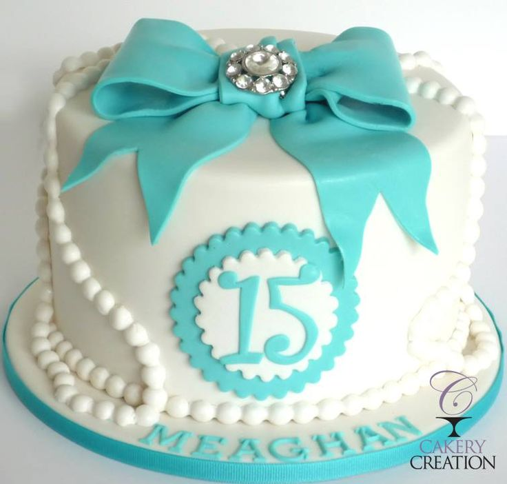 15th Birthday Cake by Cakery Creation, Daytona Beach, Florida, USA. You'll find this Cake Appreciation Society Member in our Directory at www.cakeappreciationsociety.com