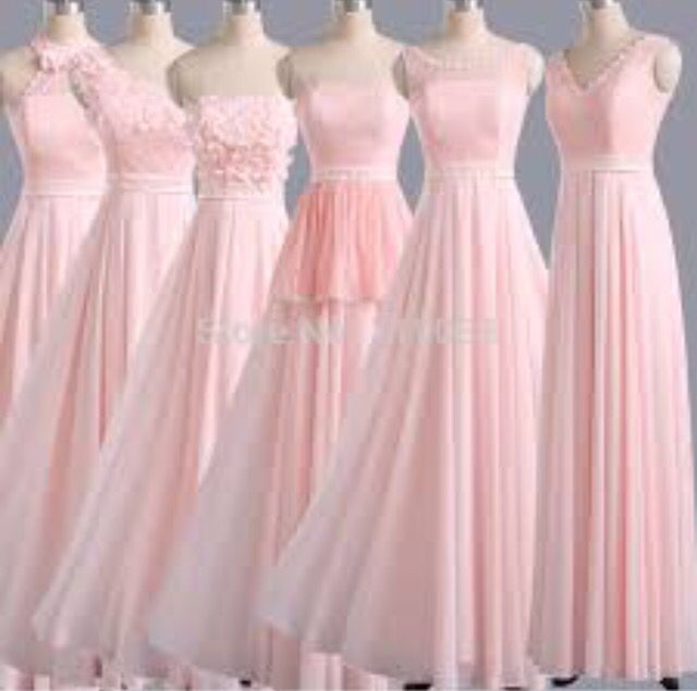 Braid maid dresses
