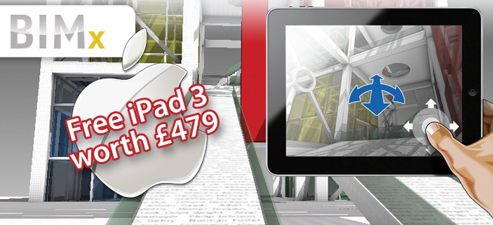 BIMx (Building Information eXplorer) iPad 3 bundle.