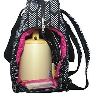 The Sarah Wells bag has a special compartment for your pumping equipment and doubles as a tote or backpack. | 24 Of The Most Life-Saving Baby Products To Order On Amazon