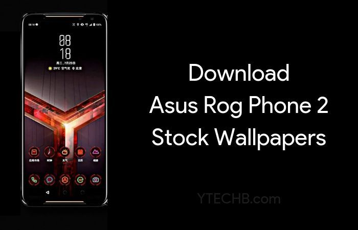 Download Asus Rog Phone 2 Stock Wallpapers Fhd Official With Images Stock Wallpaper Phone Asus