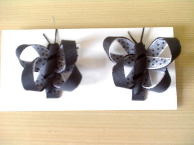 Diseño original y divertido Mariposas Negras