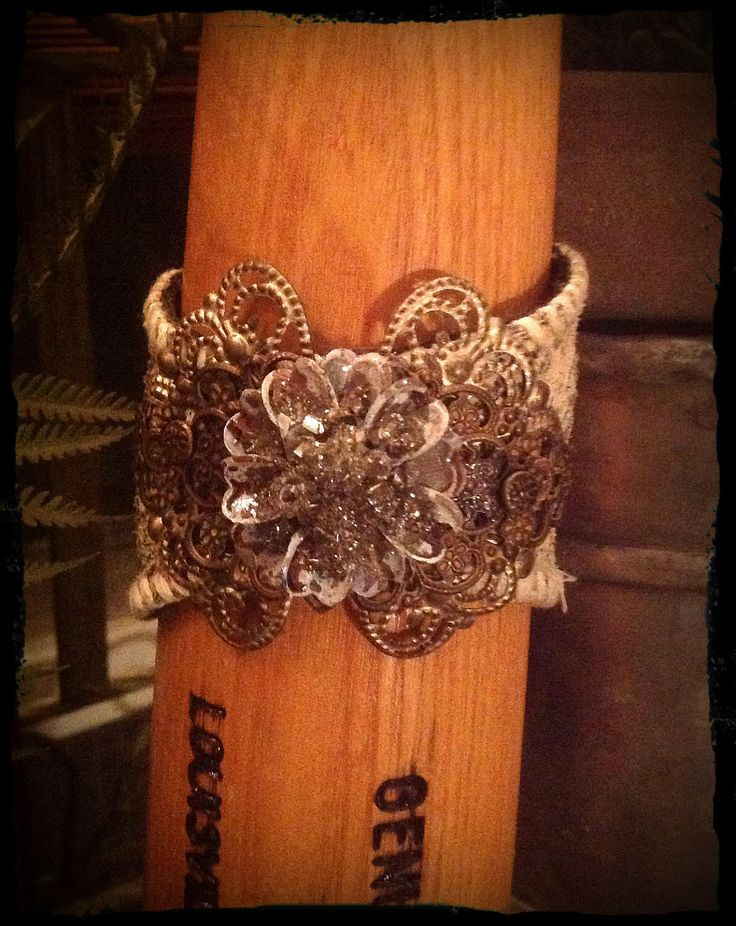 A personal favorite from my Etsy shop https://www.etsy.com/listing/520479795/floral-baseball-cuff-baseball-cuff