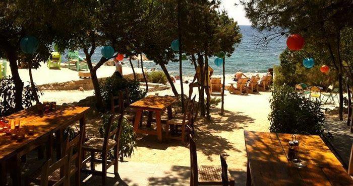 Restaurante Ses Boques @ Playa Ses Boques, es Cubells #Ibiza / #SesBoques #escubells